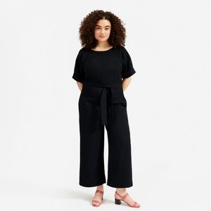 Everlane Go Weave Short Sleeve Jumpsuit